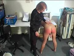 blonde, spanking, fetish