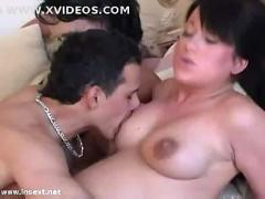 Preg. lesbian couple have sex w/ her bro (part 2)