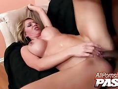 Ashley winters jizzed on her perfect tits