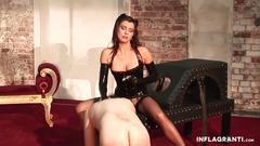 brunette, milf, spanking, fetish, orgasm, toy, dominatrix