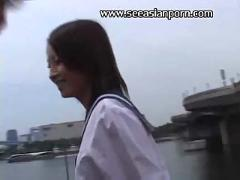 Asian onlybest schoolgirl outdoor  fucking sex