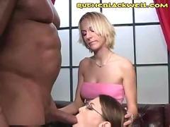 Braces cock suck