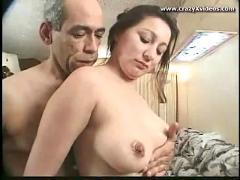 Chubby cheeks huge tits wild fuck