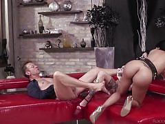 Hardcore threesome with rocco siffredi