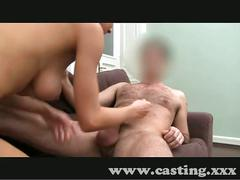 Casting student tries anal in casting