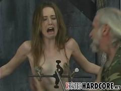 Teen nipple & pussy torture!