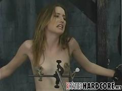 Teen nipple & pussy torture!