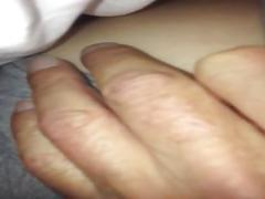 Mature hairy blonde wife fingered