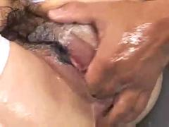fingering, wet, pussylicking, asian, hairypussy