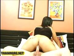 Amateur thai whore creampie