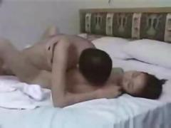 Chinese mainland girl fucks with honkong guy