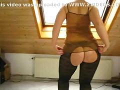 Sarah big butt butt free trousers