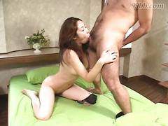 Hole in japanese pussy