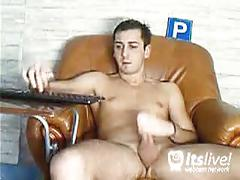 Stud lukamore's webcam jerking off hot show