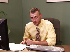 tattoo, office sex, gays, gay bowjob, on the table, big dicks at school, men, troy collins, jessie colter