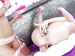 Hot lesbians crave for milk @ cream dreams #02