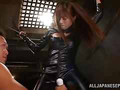 Slutty japanese tied up