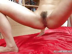 threesome, anal, hairy, babe, japanese, anal creampie, blowjob, double penetration, anal nippon, all japanese pass, saki hatsuki