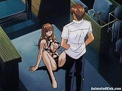 blonde, schoolgirl, stripping, doctor, big boobs, undressing, tits squeezing, animated, animated kink, kink