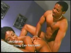 Black babe getting her cock fix