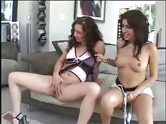 Super sex and brunette ladys