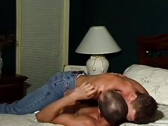 Sizzling dilf bedroom fuck