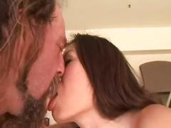 Hardcore threesome anal pounding