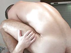 Romantic hardcore romp with two gay men - hot new scene