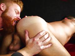 Bennette and johnny fuck each other hard