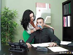milf, toilet, masturbation, stockings, big butt, fingering, rubbing, big breasts, big tits at work, brazzers network, jayden jaymes, keiran lee