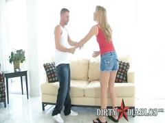 Petite alt amateur sara jackson fucks for first time