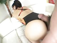 Small japanese doxy is a cocktease