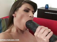 Betty analed hard by xenia with a huge strapon dildo