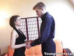 Young courtesans - teen courtesan knows her job