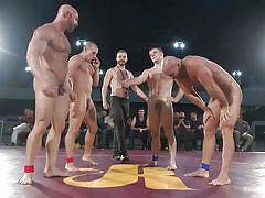 orgy, public disgrace, gay blowjob, gay, gay group, gay wrestling, naked kombat, kink men, eli hunter, doug acre, mitch vaughn, tatum x