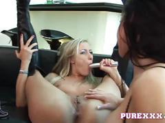 Purexxx films long legged lesbian sluts