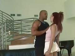 Redhead loves black cock and anal (cabinet420)