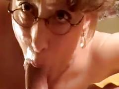 Hot mature banging before smoking deepthroat