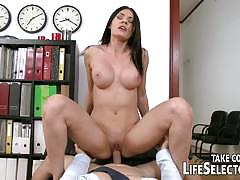 sharon lee, alexa tomas, kitana lure, brunette, asian, blowjob, hardcore, big tits, facial, blonde, toy, office, masturbation, dildo, secretary, spanking, pov, anal sex, foot fetish