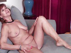 mature, redhead, solo, masturbation, american, natural boobs, sex toy, usa mature, mature nl, demi k.