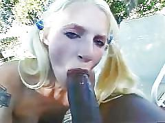 They tear her little ass up