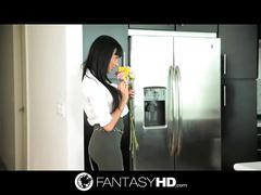 French beauty anissa kate fuck first before office