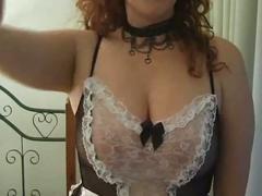 Sexy chubby maid!!!