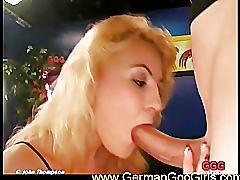 Elina pleasuring our hard cocks
