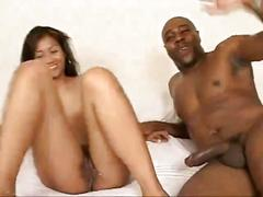 asian, cream pie, interracial
