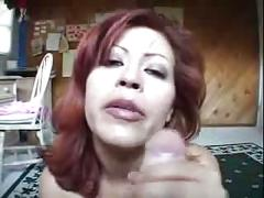 Guy fucks his girlfriend big titted aunt