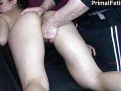 Erotic massage 74: hot fitness model needs to cum