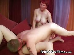Dirty and intimate amateur 3some with matures