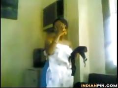 Naughty indian couple fucking at home