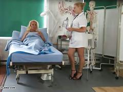 Milf lana cox gets toe sucked and footjob from naughty nurse